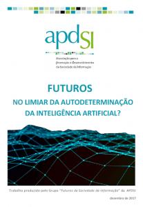 """Cenário """"No Limiar da Autodeterminação da Inteligência Artificial? - capa"""