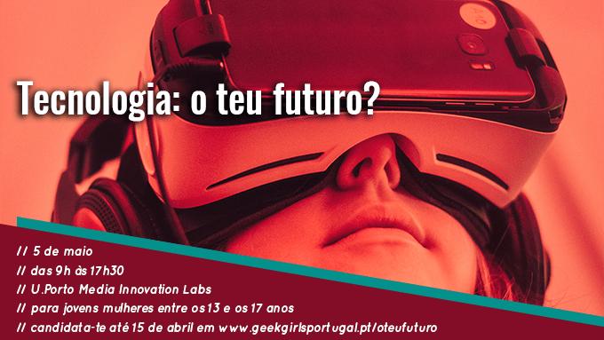 Banner do evento Tecnologia: O Teu Futuro