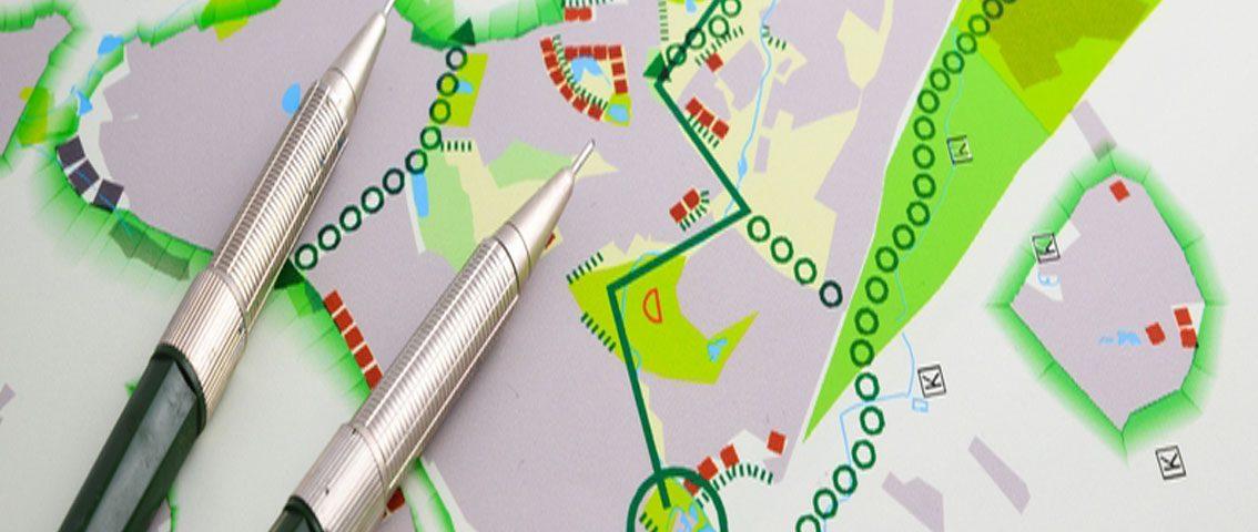 Ordenamento do território - infografia
