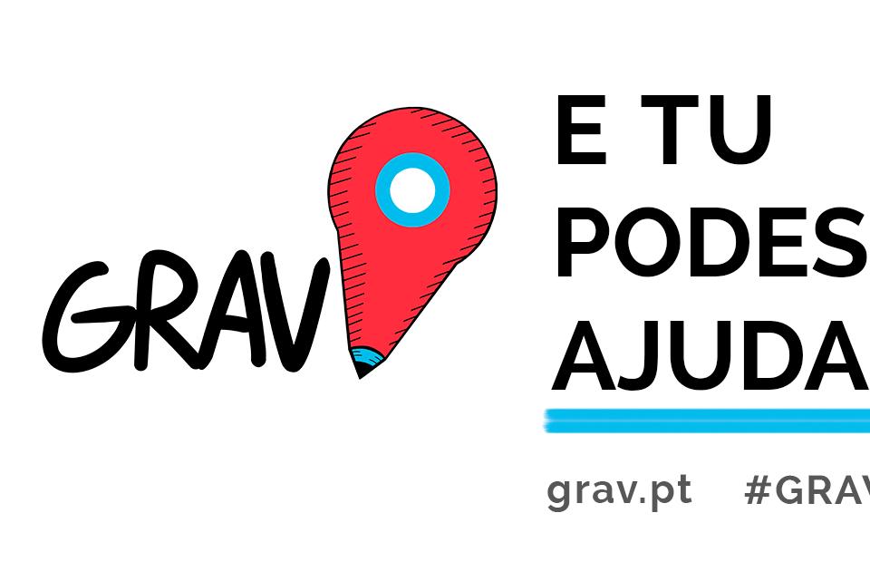 Mobilização de pessoas para ajudar com o projeto GRAV