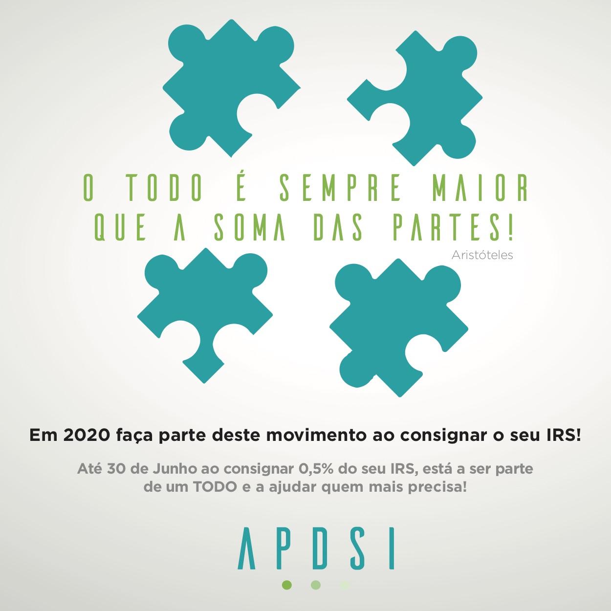 Campanha Consignação do IRS da APDSI em 2020
