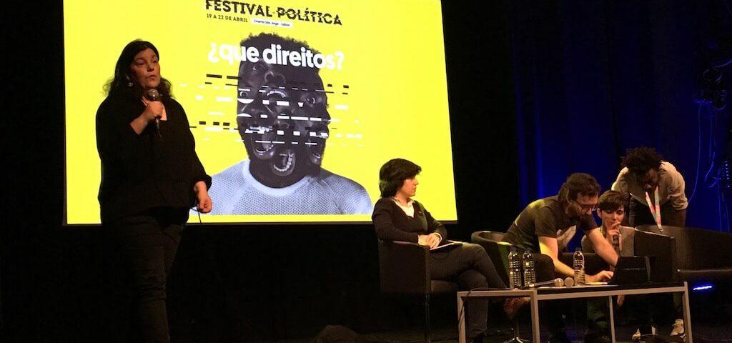 Ana Neves no Festival Política 2018