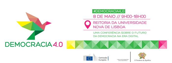 Democracia 4.0 - banner