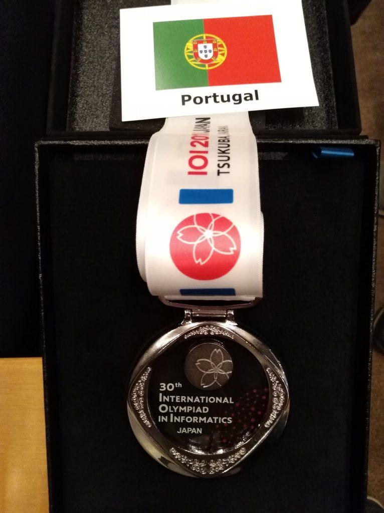 Medalha de Prata para Portugal nas IOI 2018