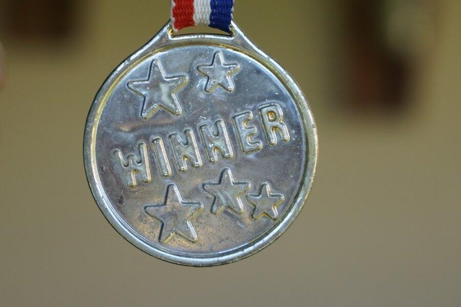 Medalha de vencedor